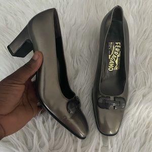 Salvatore ferragamo heel pumps